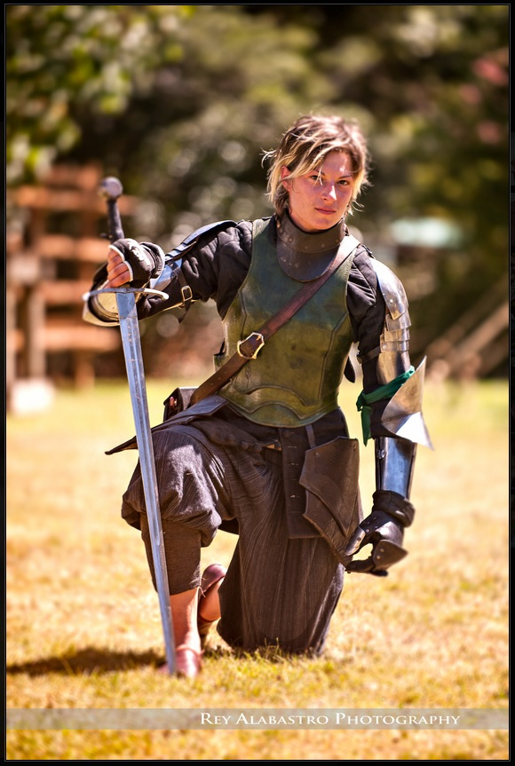 Women with swords...without the chainmail bikini.